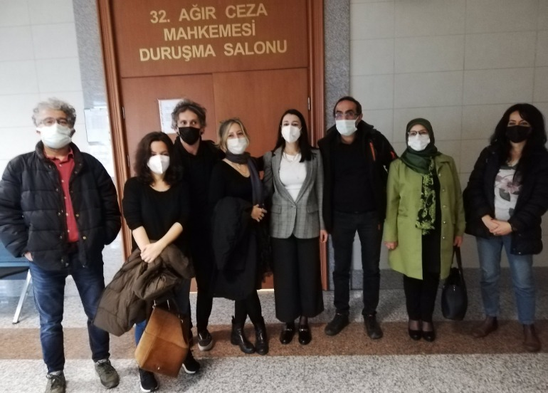 Journalist Melis Alphan appears in court over Newroz photo