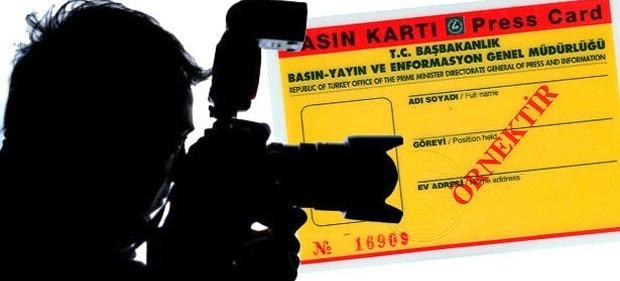 Çok sayıda gazetecinin basın kartı iptal edildi