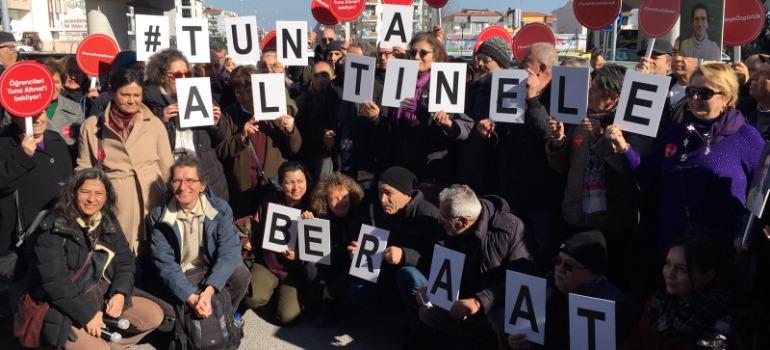 Akademisyen Tuna Altınel beraat etti