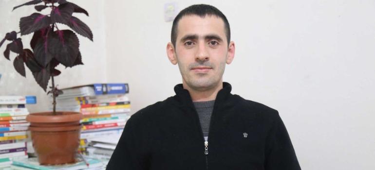 Haber takibi sırasında tutuklanan İdris Sayılğan tahliye edildi