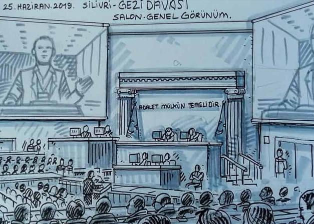 ANALİZ: Bir hukuksuzluk süreci olarak Gezi Davası
