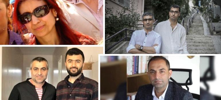 Tutuklu 6 gazeteci hakim karşısına çıkıyor