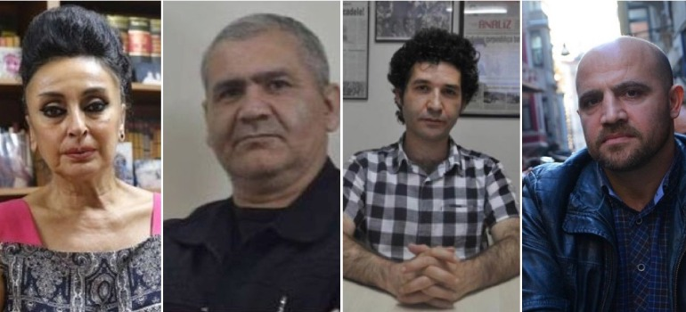 Özgür Gündem davasında dört kişiye hapis cezası