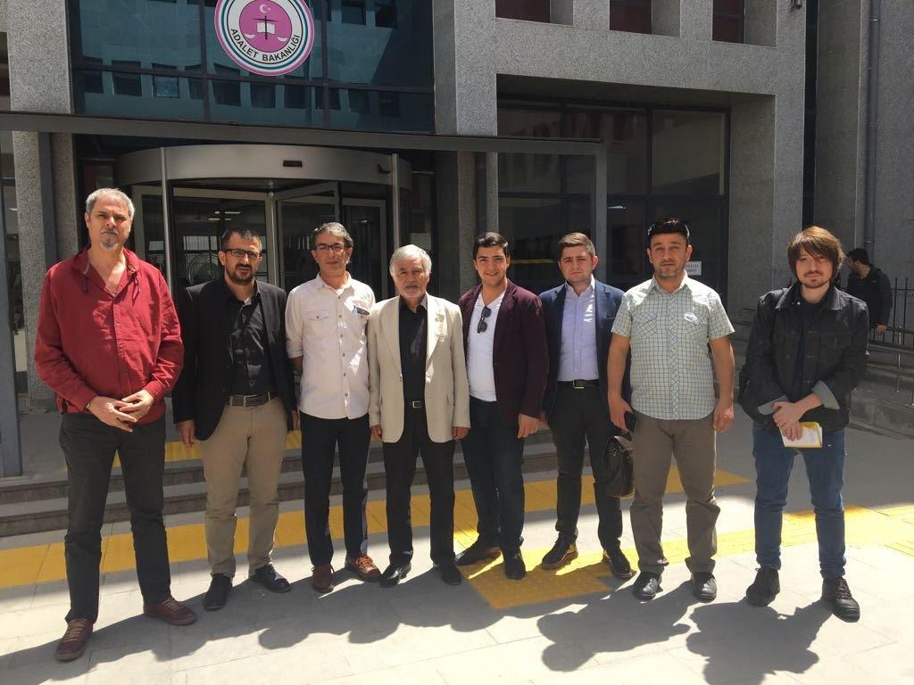 Gazeteci Murat Güreş'e uygulanan adlî kontrol kaldırıldı