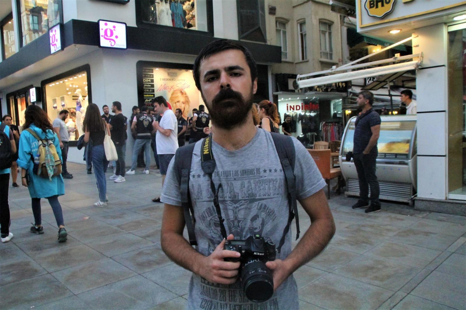 İstanbul'da gözaltına alınan iki gazeteci serbest bırakıldı