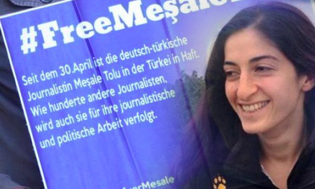 Meşale Tolu 8 ay tutukluluktan sonra tahliye edildi